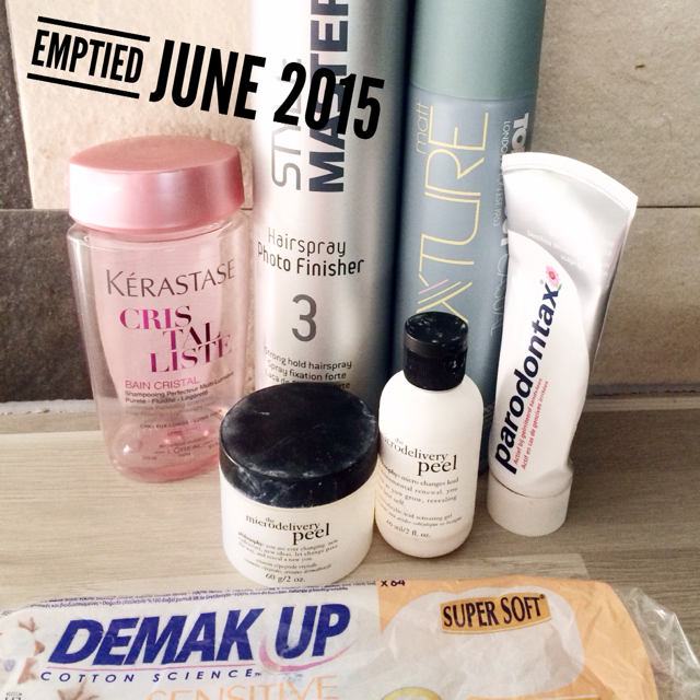 Emptied June 2015