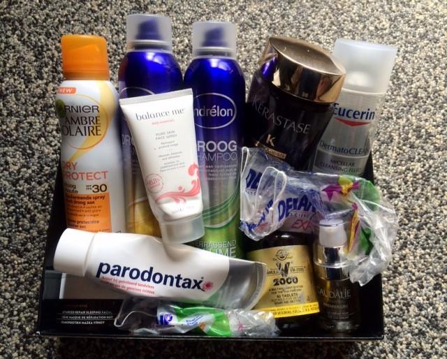 Beautyproducten opgemaakt augustus 2015