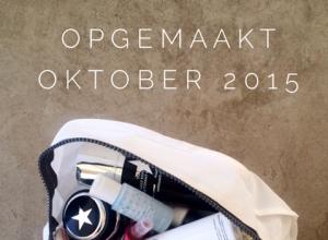 Opgemaakt Oktober 2015