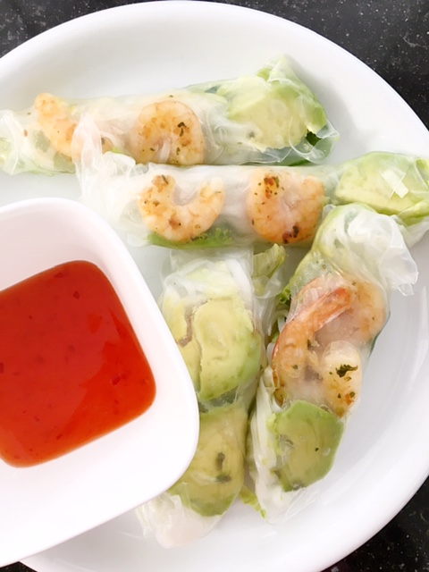 Spring Rolls with Shrimp Recipe