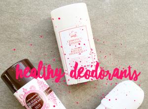 Healthy Deodorants