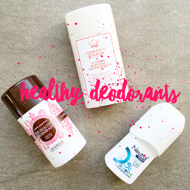 Healthy Deodorants