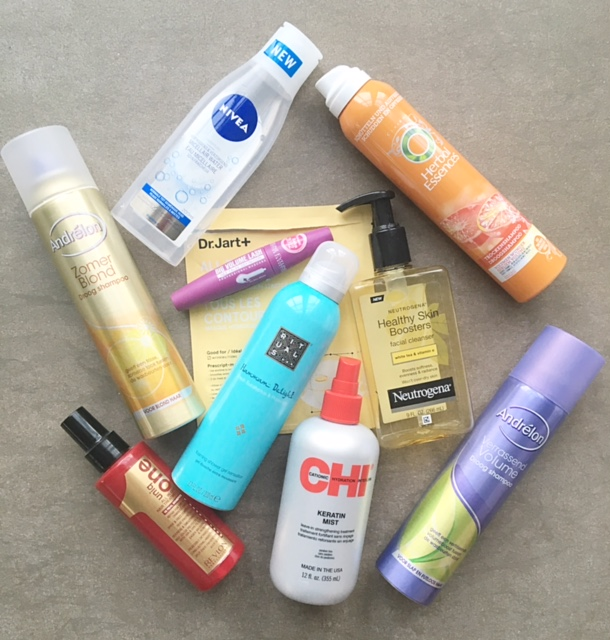 Opgemaakt beauty producten mei 2016
