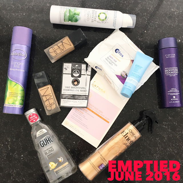 Emptied June 2016