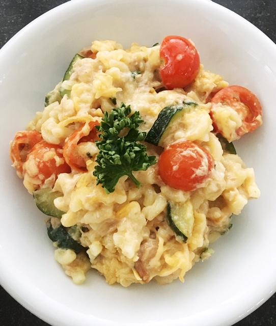 Recept Mac & Cheese met Tonijn