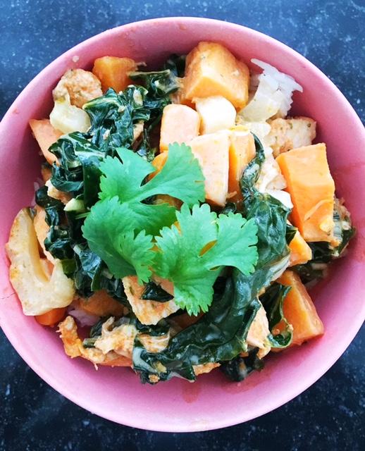 Recipe Sweet Potato Curry