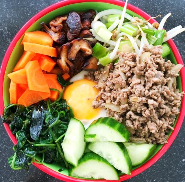 Recept Koreaanse Bibimbap