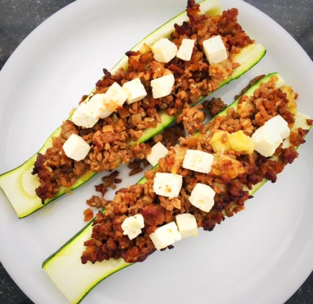 Recipe Stuffed Zucchini
