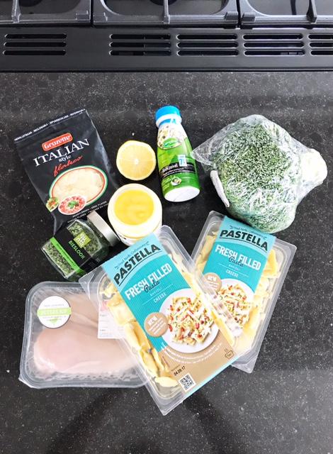 Recept Kaas Ravioli met kip en broccoli