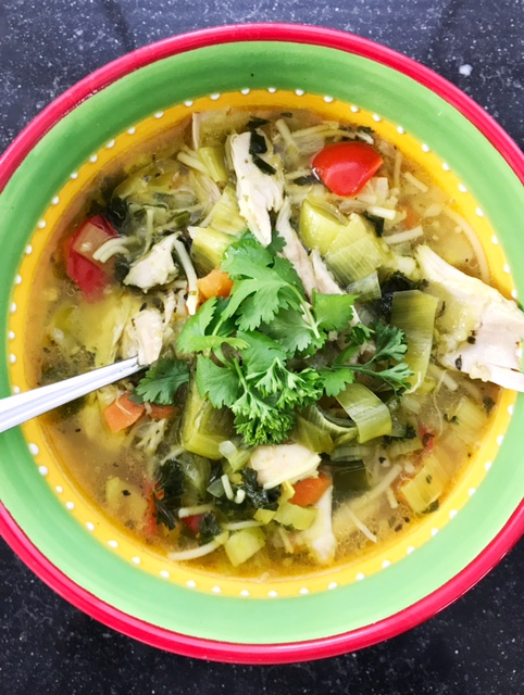 Recipe anti-flu soup