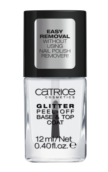 Catrice Dazzle Bomb Glitter Peel-Off Base & Top Coat