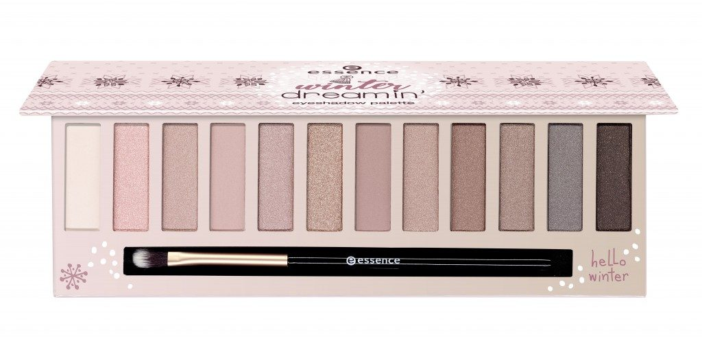 Essence Winter Dreaming eyeshadow palette