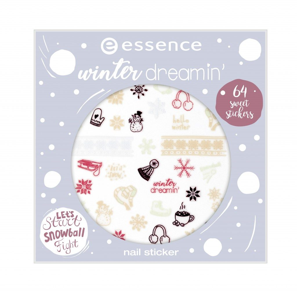 Essence Winter Dreaming nailsticker