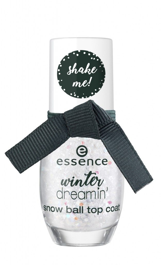 Essence Winter Dreamin Snow ball top coat