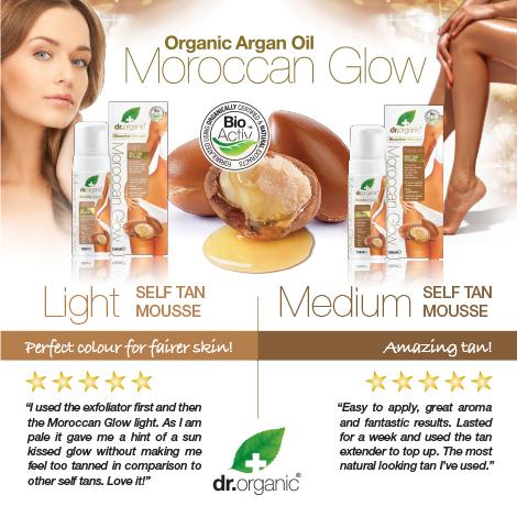 Dr. Organic Moroccan Glow