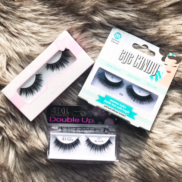 False Lashes from the Biggest Brands - Beautybyfrieda