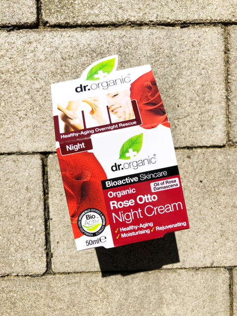 Dr. Organic Rose Otto Night Cream