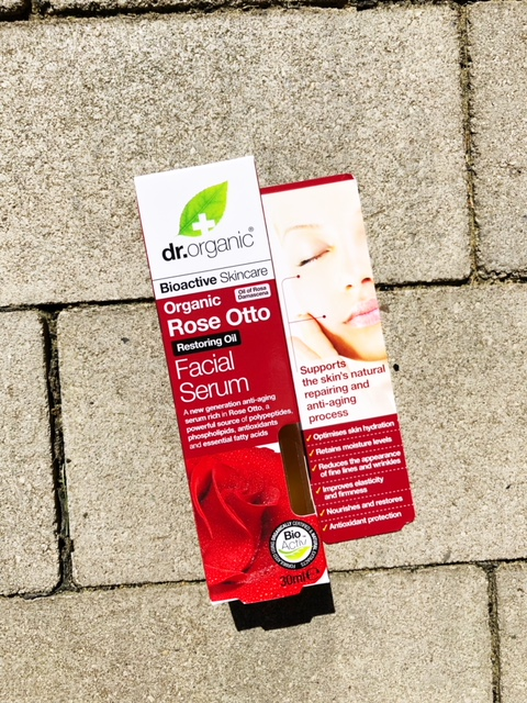 Dr. Organic Rose Otto Facial Serum