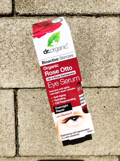 Dr. Organic Rose Otto Eye Serum
