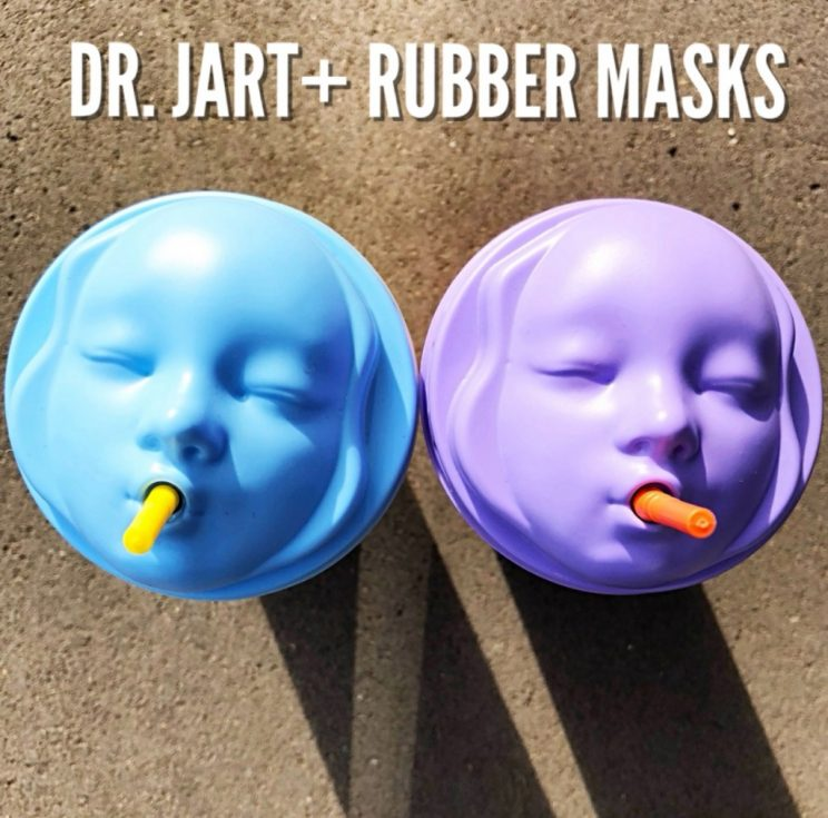 Dr. Jart Rubber Face Masks