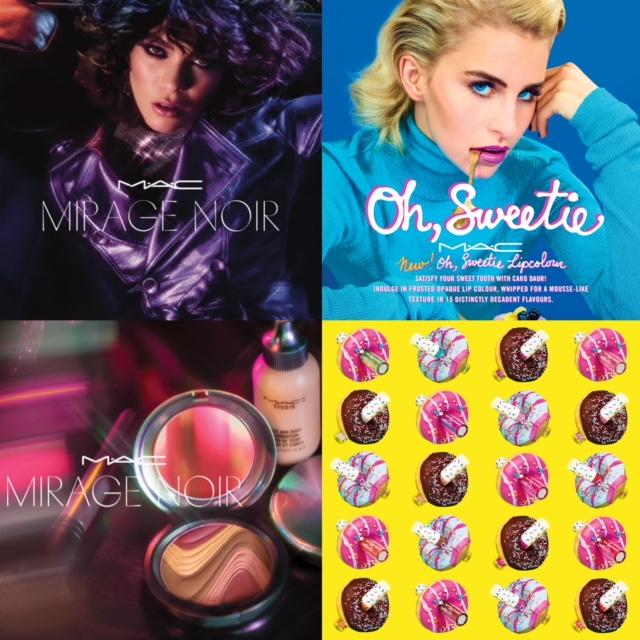 M.A.C Cosmetics Mirage Noir & Oh, Sweetie