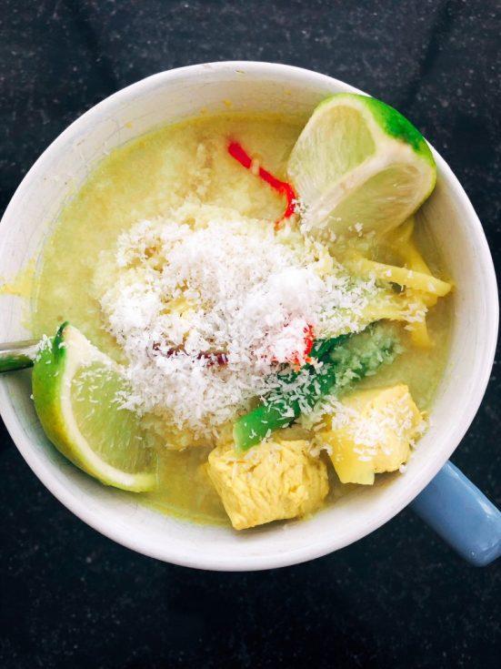 Nazomer recept met kokos