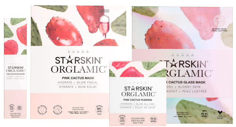Starskin Orglamic Pink Cactus Collection