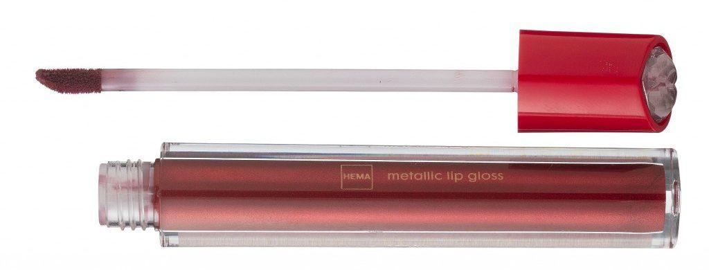 lipgloss metallic red