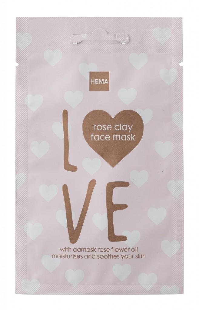 Hema Rose Clay Face Mask