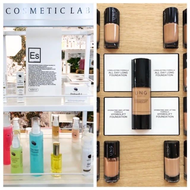 Webecos en UNG Cosmetics