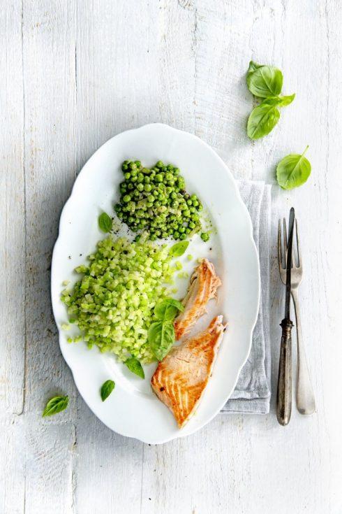 Broccolirijst-zalm