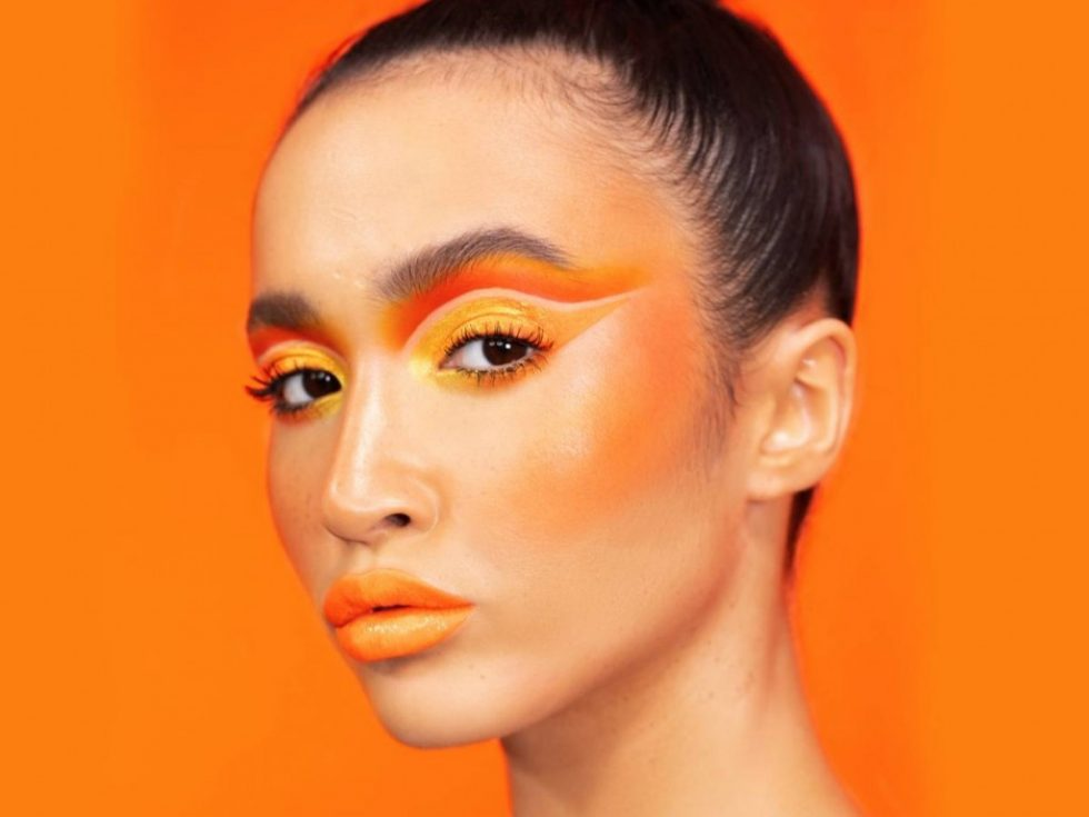 Orange Make-Up Trend