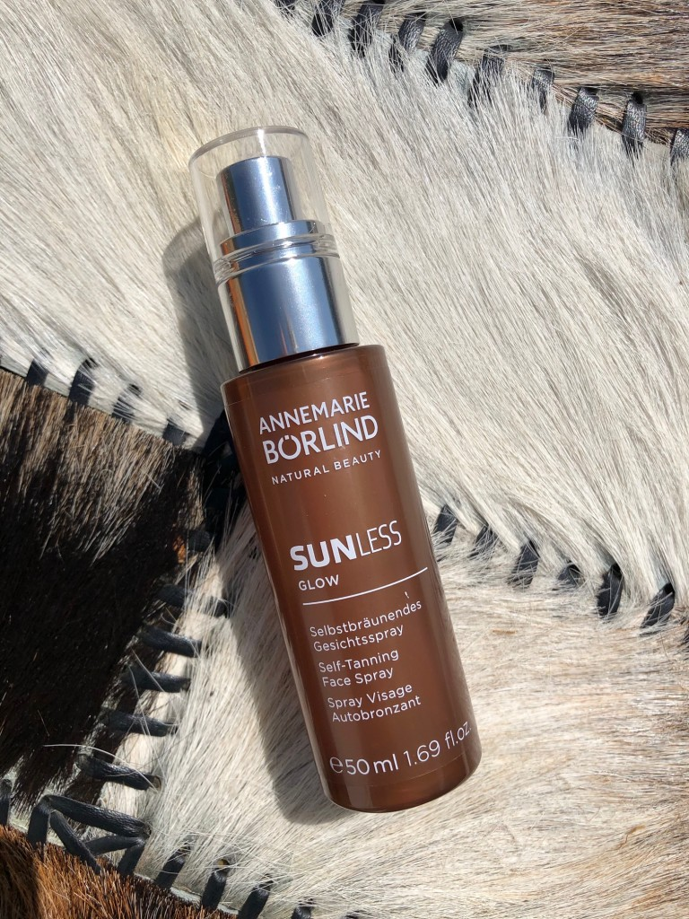 Sunless Self-Tanning Face Spray