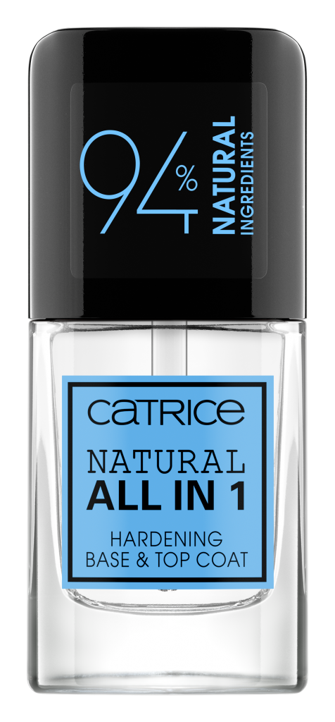 NATURAL ALL IN 1 HARDENING BASE & TOP COAT