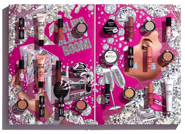 NYX Professional Makeup Advent Calender 24 Day Holiday Countdown