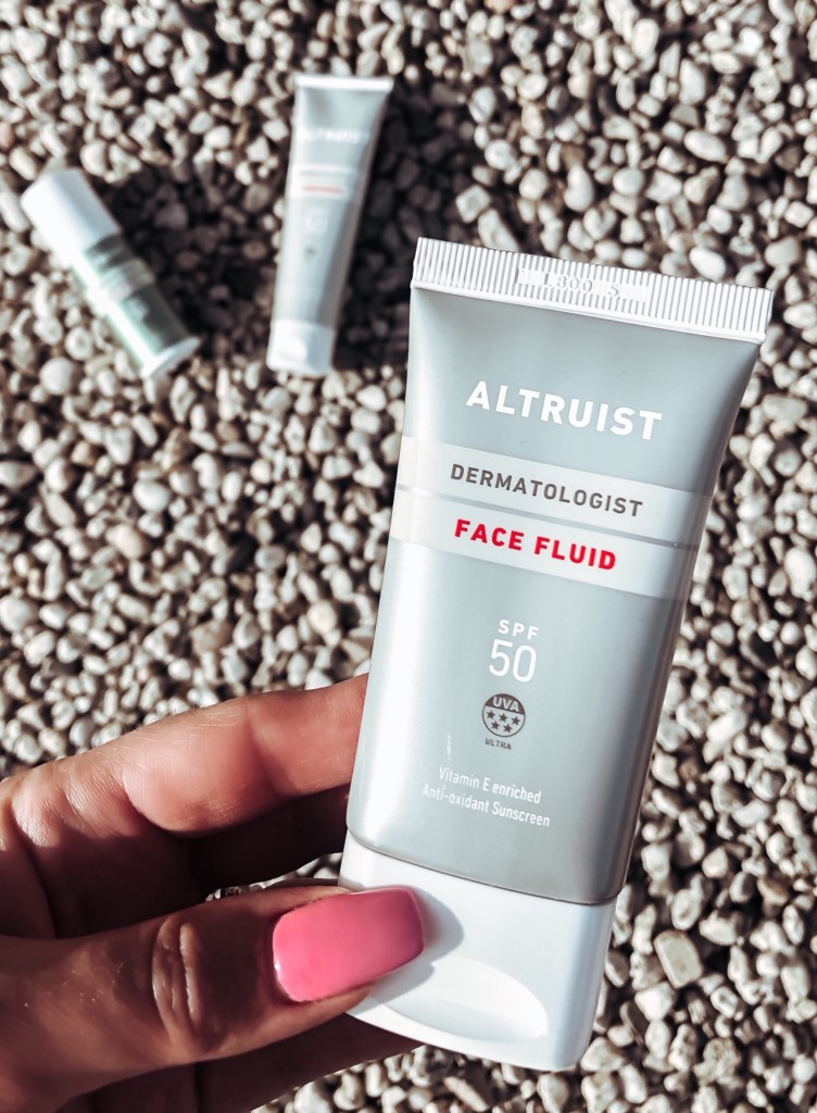 ALTRUIST Face Fluid SPF50