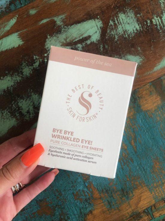 Skin for Skin Pure Collagen Eye Sheets